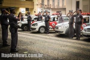 Homenagem lembrou tragédia que vitimou policiais