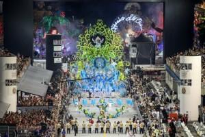 A Pérola Negra abriu o desfile de carnaval de São Paulo (Divulgação/Rafael Neddermeyer/LIGASP/Fotos Públicas)