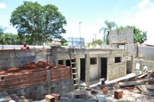 Palco está sendo construído desde maio passado (Megaphone)