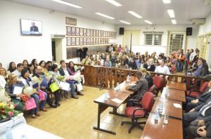 Evento aconteceu na Câmara e rendeu homenagens a 21 profissionais (Divulgação)