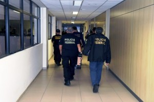 Agentes federais estiveram em diversas empresas em busca de documentos (Divulgação/PF)