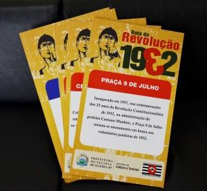 Roteiro envolve passagens por locais importantes na história da Revolução Constitucionalista (Reprodução)