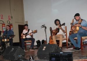 Apresentações musicais foram bem avaliadas, mas público pequeno não ajudou entidade (Leo Santos/Megaphone)