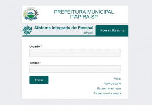 Servidores poderão acessar holerites por meio do site da Prefeitura (Reprodução)