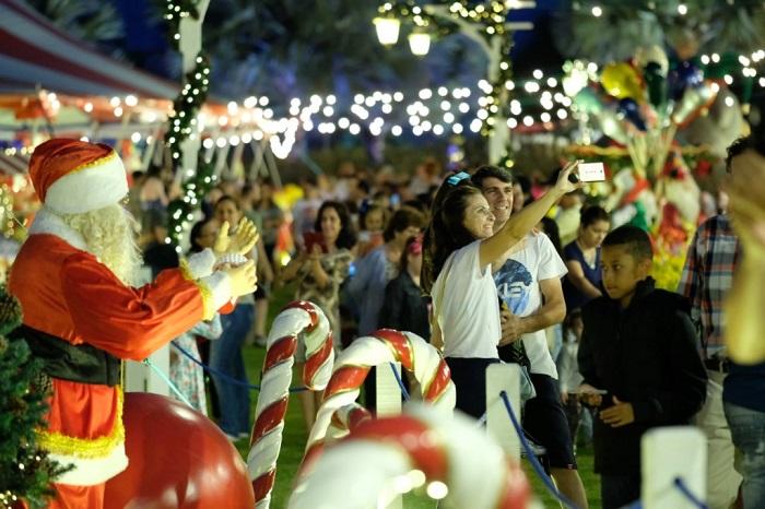 Em Amparo: decoração natalina da Ypê atrai visitantes de ...