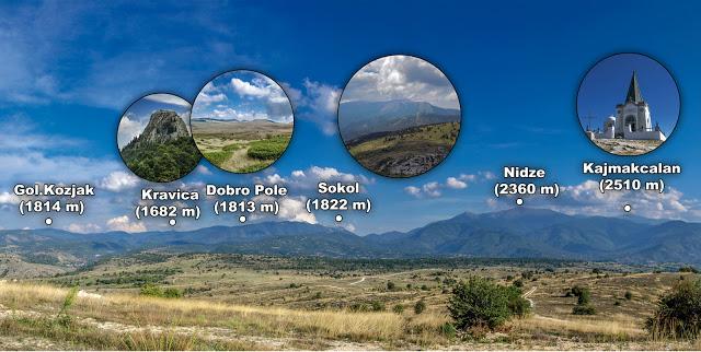 Врвови на Ниџе планина