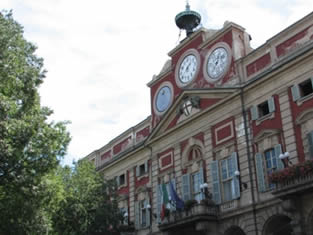 Alessandria ,palazzo rosso
