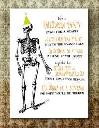free halloween costume party invitation templates