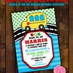 Party Bus Invitations Mickey Mouse Invitations Templates