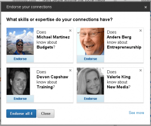 Are LinkedIn Endorsements valuable?