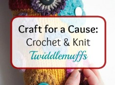Craft for a cause: twiddlemuffs by http://www.itchinforsomestitchin.com