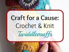 Craft for a cause: twiddlemuffs by https://www.itchinforsomestitchin.com