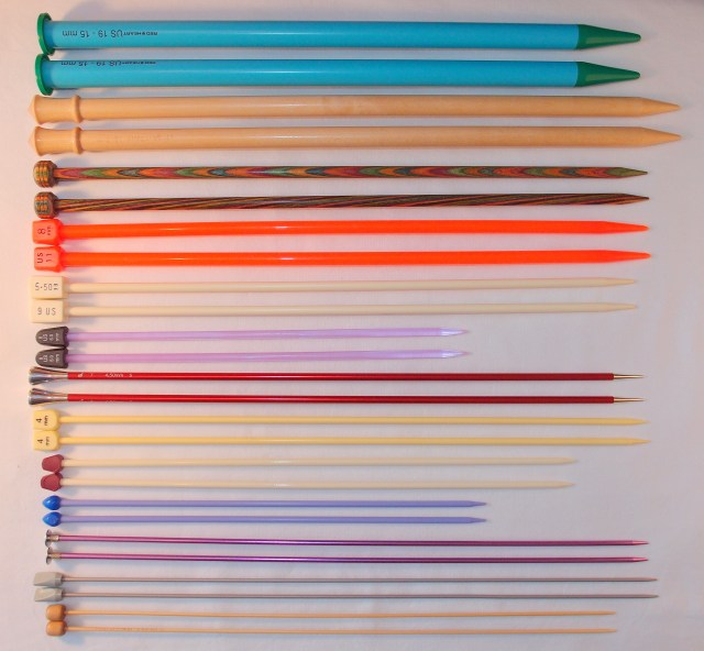 Straight Knitting Needles. http://www.itchinforsomestitchin.com