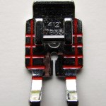 "Quilter's 1/4"" piecing presser foot. http://www.itchinforsomestitchin.com"