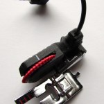 Sensor One-Step Buttonhole Presser Foot. http://www.itchinforsomestitchin.com