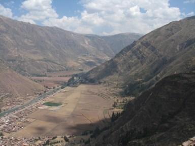Pisac Peru valley