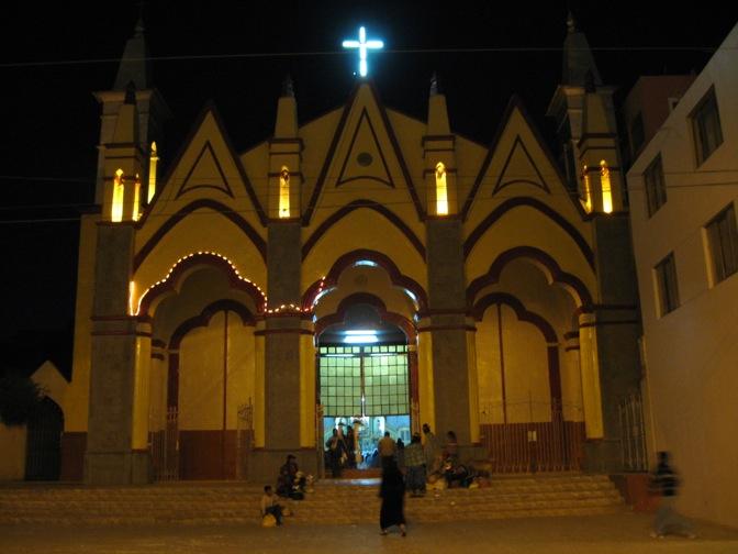 Puno, Peru church
