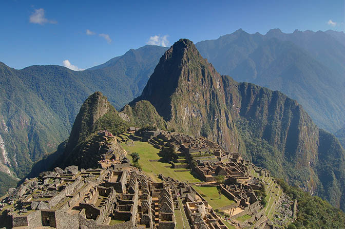 The money shot of Machu Picchu.