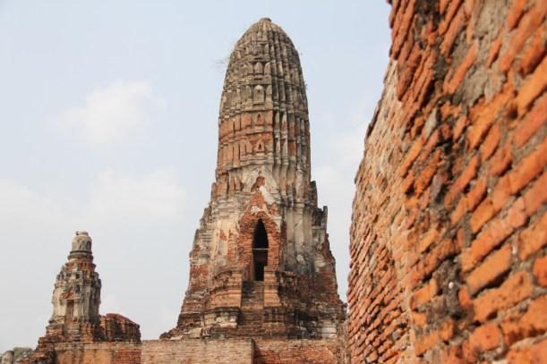 Wat Phra Ram or Phraram in Ayatthuya, Thailand
