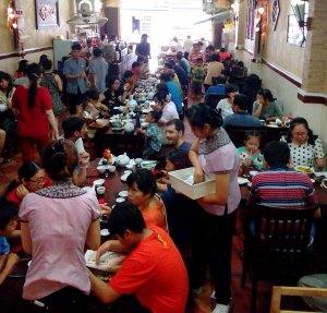 Dim Sum restaurant in Cho Lon, Saigon, Vietnam