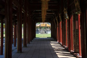 imperial city palace in Hue Vietnam