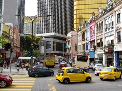 Lebuh Pasar Besar: Old market square, Kuala Lumpur, Malaysia