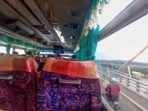 Mekong Bus inside