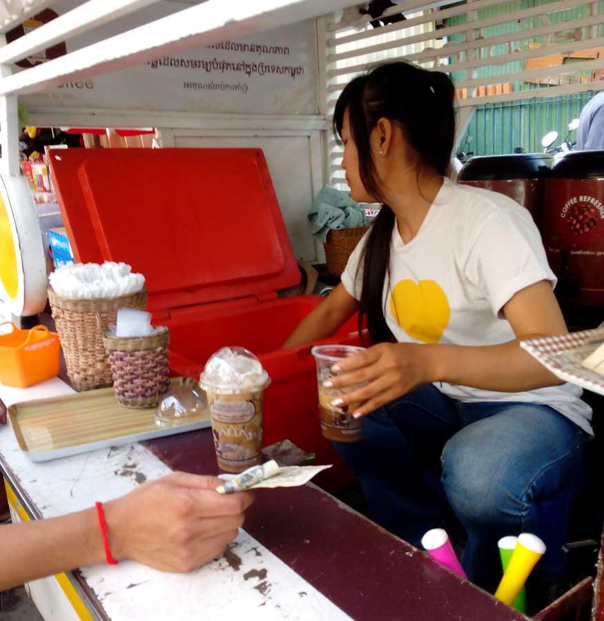 Mobile Coffee Phnom Penh, Cambodia