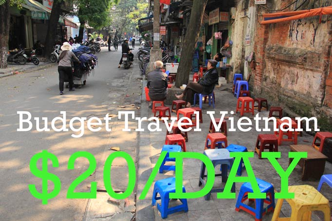 Budget Travel Vietnam Guide: Budget travel Vietnam for just $20/day.