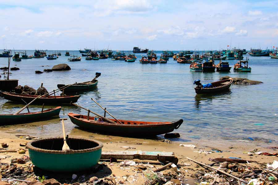 An Thoi fishing village in Phu Quoc, Vietnam