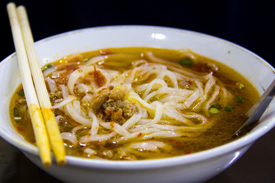 999 Shan Noodle Shop soup.