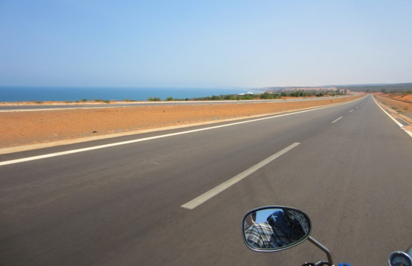 Motorcycling in Phan Thiet