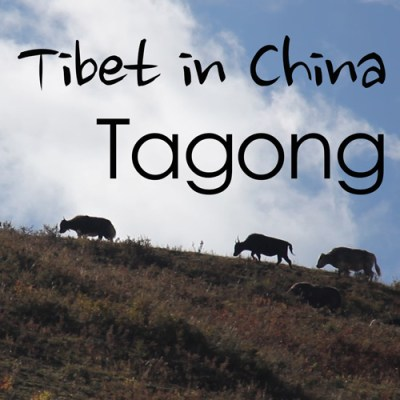 Tibet in China - Tagong, Sichuan, China