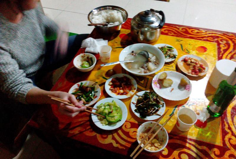 Danba dinner