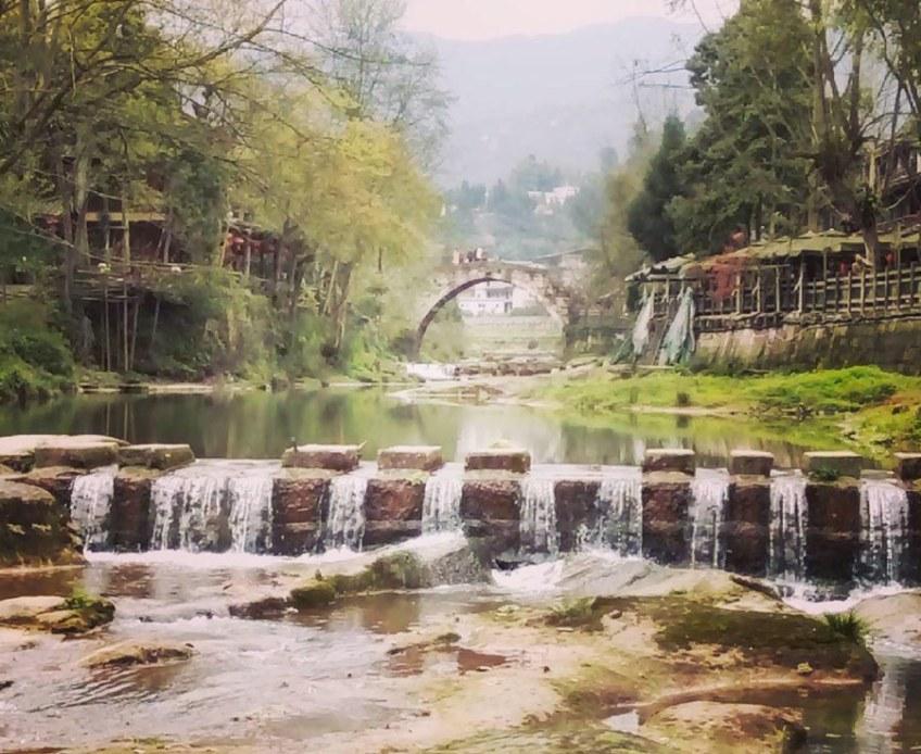 Shangli Ancient Village Sichuan, China