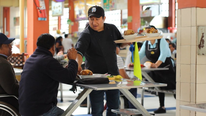 Central Market Quito Corvina