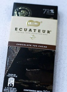 Nestle Ecuadorian chocolate