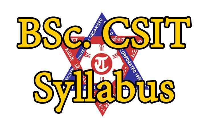 BSc  CSIT Syllabus, Syllabus of BSc  CSIT, TU Syllabus - IT College