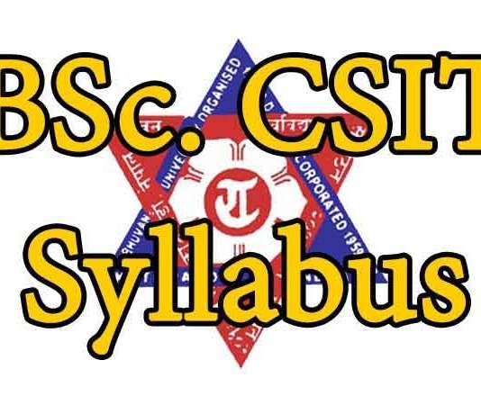 BSc.-CSIT-Syllabus