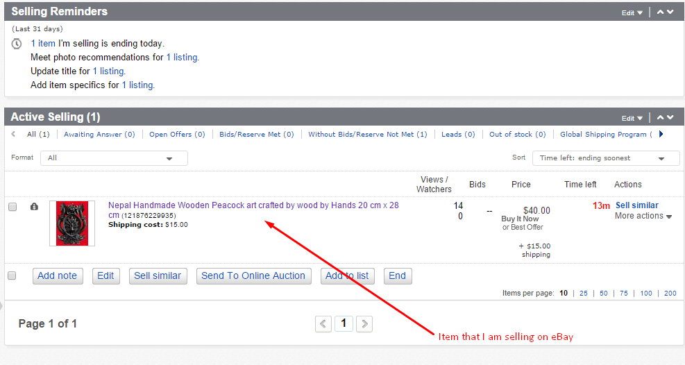 make money online without investment by selling items on ebay