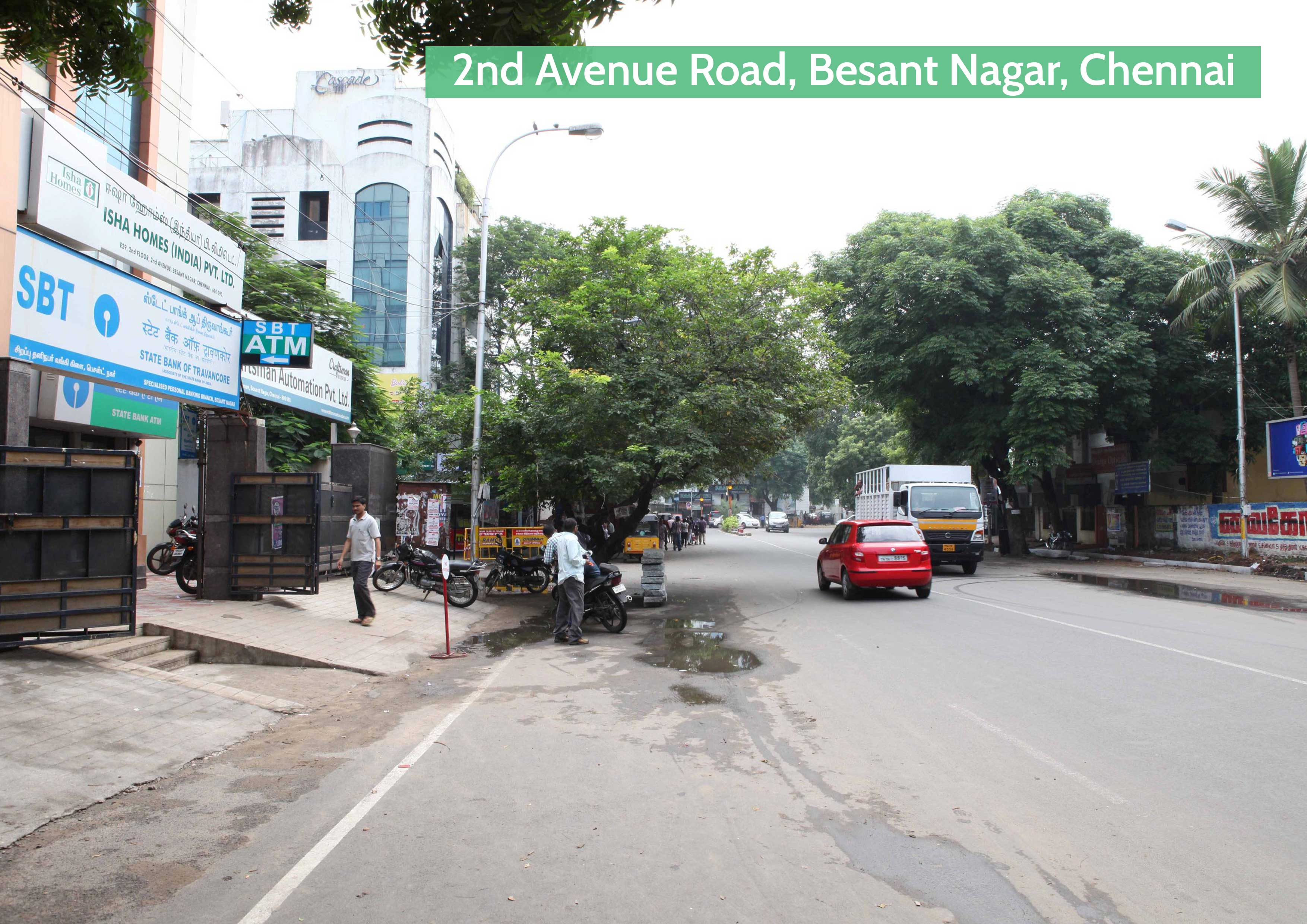 Before-Besant Nagar, Chennai