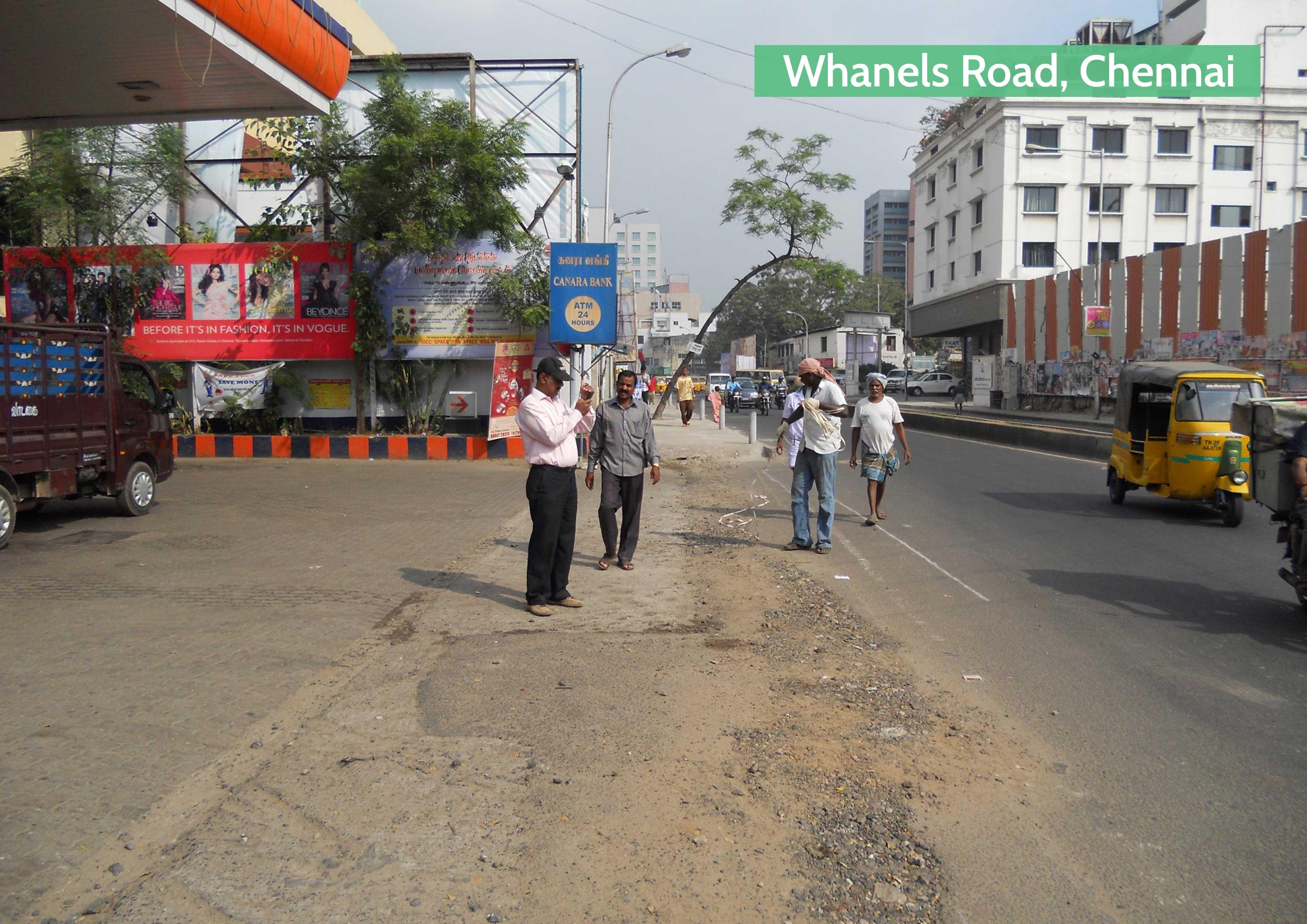 Before-Whanels Road, Chennai