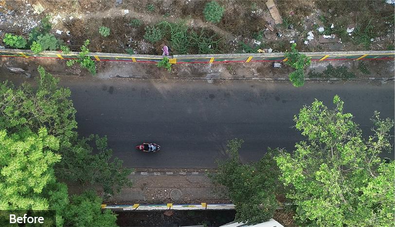 Before-Sringeri Mutt Road
