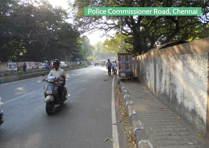Before-The transformation of Chennai's streets