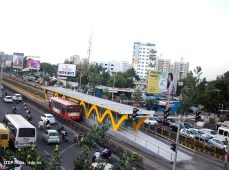 The Rainbow BRT system in Pune, India