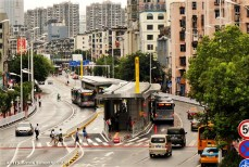 Yichang BRT and pedestrian safety improvement