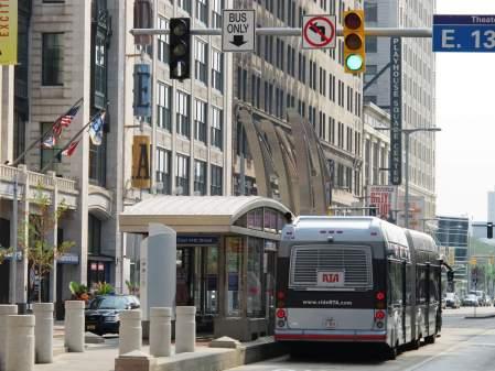 HealthLine BRT, Cleveland, Ohio