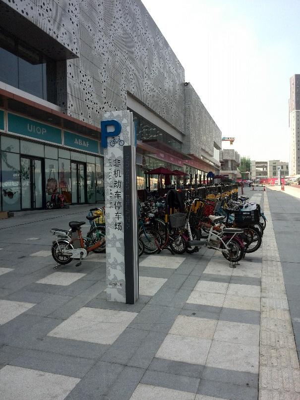 Fig.10 Demonstration for bike parking