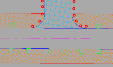 Fig. 9a Design and implementation of bollards