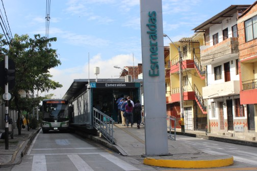 BRT in Medellin, Colombia transformed access in a low income neighborhood